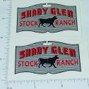 Wyandotte Shady Glen Stock Ranch Sticker Set Main Image