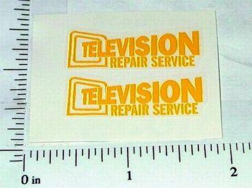 Wyandotte Television Repair Service Stickers Main Image