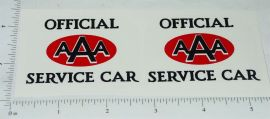 Wyandotte AAA Service Car Towing Truck Stickers
