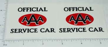 Wyandotte AAA Service Car Towing Truck Stickers Main Image