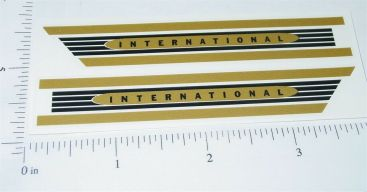 Buddy L Gold International Hood Stickers Main Image