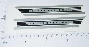 Buddy L Silver International Hood Stickers Main Image