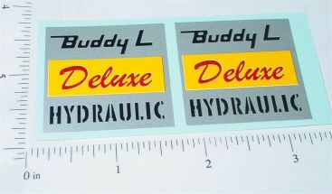 Buddy L Deluxe Hydraulic Dump Truck Stickers Main Image