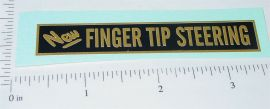 Buddy L Finger Tip Steering Sticker