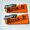 Buddy L Repai-It Wrecker (org/blk) Sticker Set Main Image