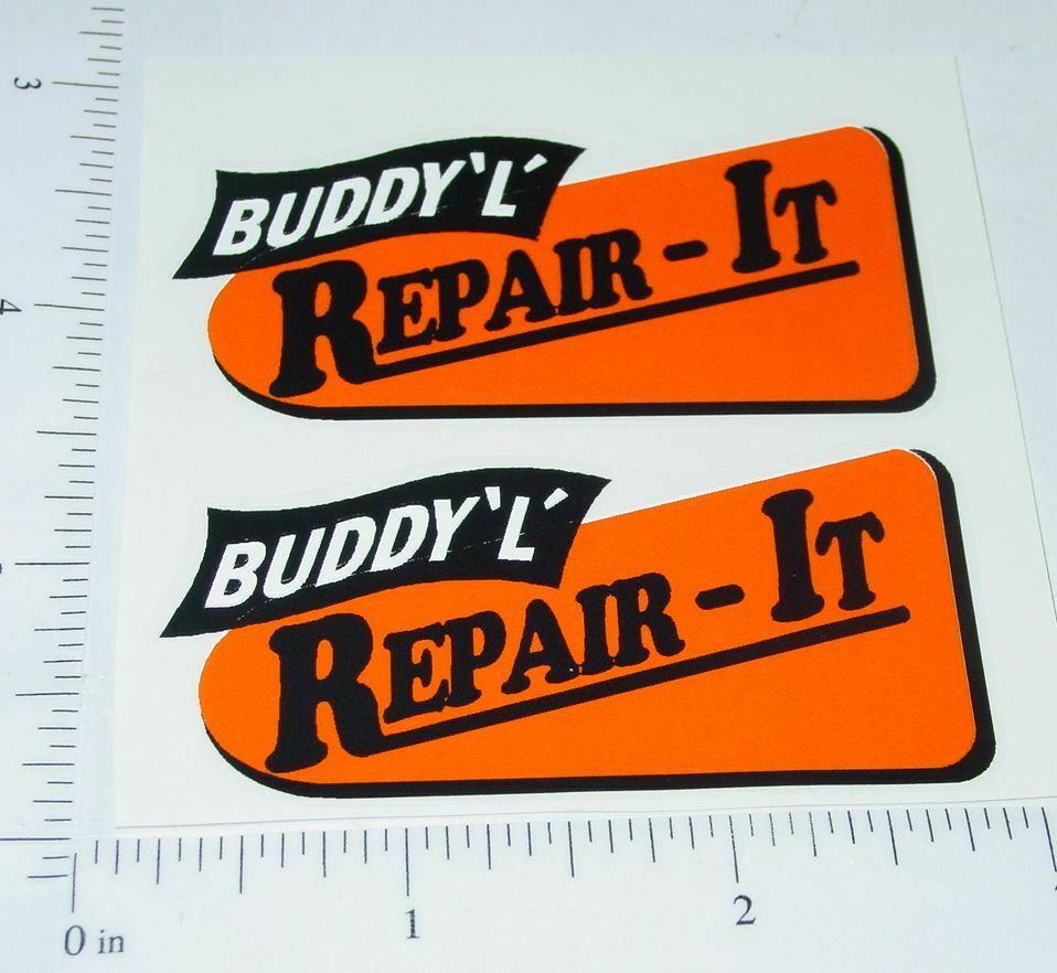 Buddy L Spring Suspension Hood Sticker          BL-178