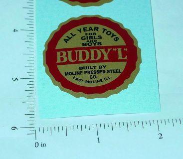 Buddy L Round Style Floor Plate Sticker Main Image