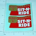 Buddy L Sit N Ride Truck Stickers Main Image