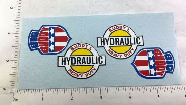 Buddy L Mack Hydraulic Dump Truck Replacement Sticker Set Main Image