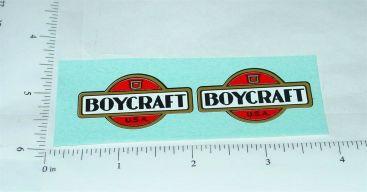 Vintage Boycraft Pressed Steel Vehicle Stickers Main Image