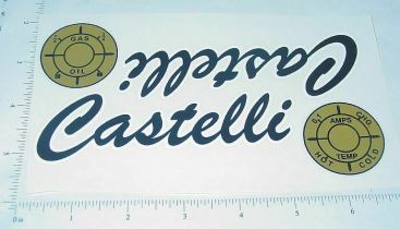 Castelli Pedal Tractor Replacement Sticker Set Main Image