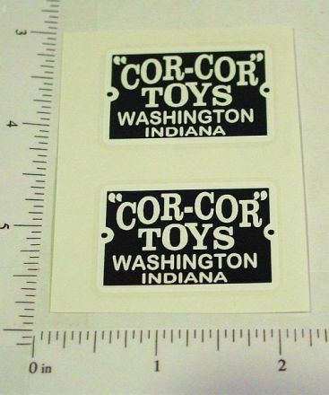 Cor Cor Toys Replacement Logo Stickers Main Image