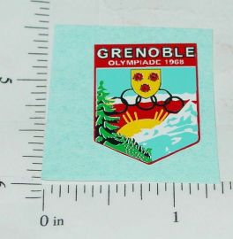 Corgi 1968 Olympics Citroen Replacement Sticker