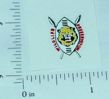 Corgi Wildlife Conservation Citroen Sticker Main Image