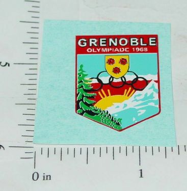 Corgi 1968 Olympics Citroen Replacement Sticker Main Image