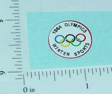 Corgi 1964 Olympics Citroen Replacement Sticker Main Image