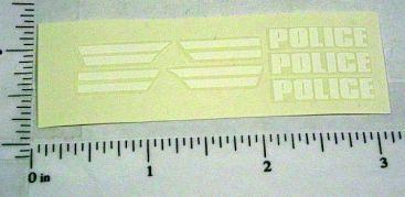 Corgi #406 Buick Police Car Sticker Set Main Image