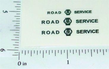 Corgi Bedford AA Road Service Van Stickers Main Image