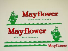 Custom Mayflower World-Wide Movers Stickers Tonka or Smith Miller