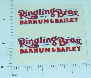Custom Ringling Bros Barnum & Bailey Stickers Main Image