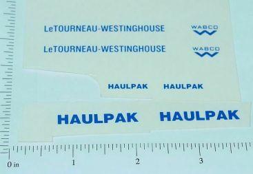 Custom LeTourneau WABCO Haulpak Stickers Main Image