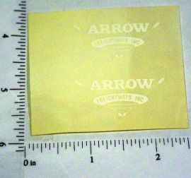 Custom Arrow Freightways Stickers