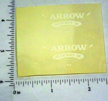 Custom Arrow Freightways Stickers Main Image