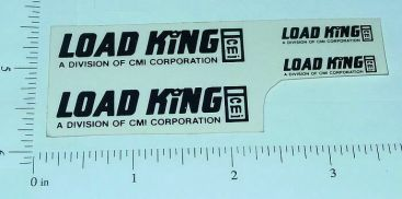Custom Black Load King Stickers Main Image