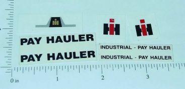 Custom IHC Payhauler Truck Stickers Main Image
