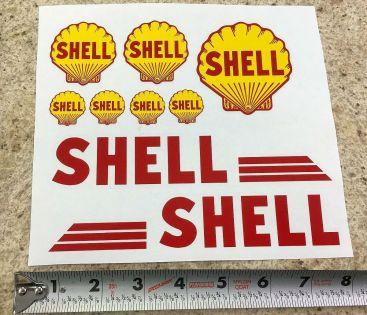 Custom Shell Tonka/Smith Miller Semi Tanker Sticker Set Main Image