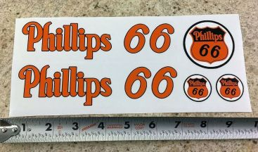 Custom Phillips 66 Tonka/Smith Miller Semi Tanker Sticker Set Main Image