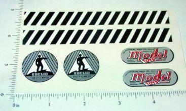 Doepke Euclid Bottom Dump Sticker Set Main Image