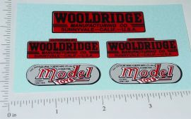 Doepke Woolridge Earth Mover Sticker Set