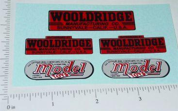 Doepke Woolridge Earth Mover Sticker Set Main Image
