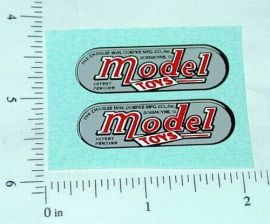 Doepke Model Toys Replacement Logo Sticker Set