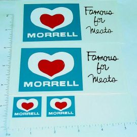 Dunwell Morrell Meats Semi Truck Sticker Set
