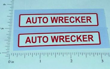 Dunwell Auto Wrecker Truck Stickers Main Image