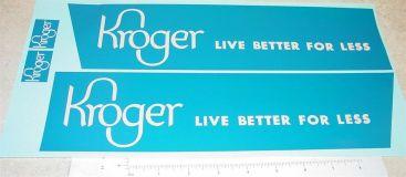 Dunwell/Buckeye Kroger Stores Semi Sticker Set Main Image