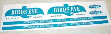 Dunwell Birdseye Foods Semi Truck Sticker Set Main Image