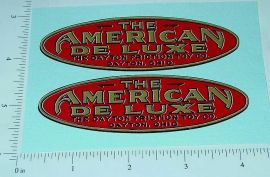 Dayton Friction American National Bus Stickers