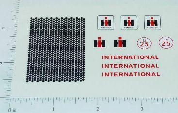Ertl International TD-25 Crawler Sticker Set Main Image