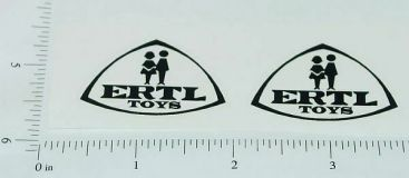 Ertl IHC Fleetstar Black Logo Stickers          ET-006B Main Image