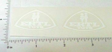 Ertl IHC Fleetstar White Logo Stickers Main Image