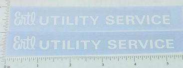 Ertl Fleetstar Utility Bucket Truck Sticker Set Main Image