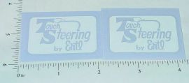 Ertl Fleetstar White Touch Steering Sticker Set