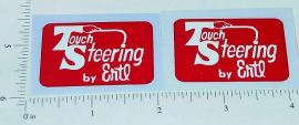 Ertl Fleetstar Touch Steering Sticker Set