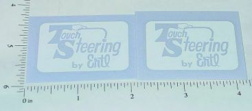 Ertl Fleetstar White Touch Steering Sticker Set Main Image