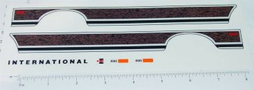 Ertl Diecast 1:16 Scale IHC Pickup Sticker Set Main Image