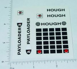 Ertl 1:32 Scale IHC Hough Payloader Stickers
