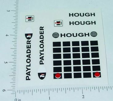 Ertl 1:32 Scale IHC Hough Payloader Stickers Main Image